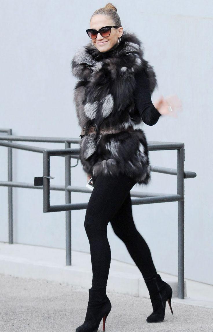 Jennifer Lopez Fashion Style Hoje Nosso Street Style