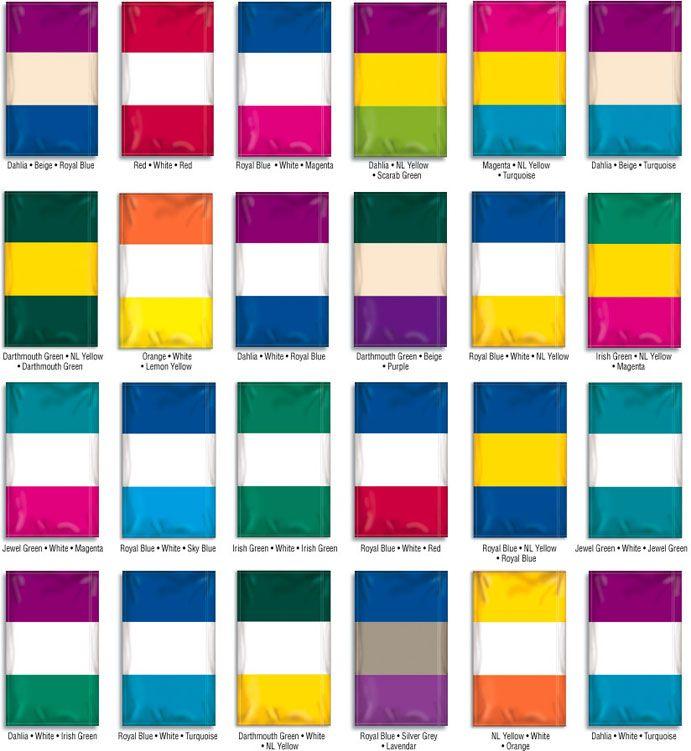 350 Best Color Schemes Images On Pinterest: Nylon Flag Color Combination Samples