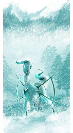 Ice Arceus by Tuooneo on deviantART