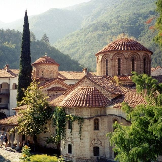 Bachkovo Monastery, near Plovdiv, Bulgaria
