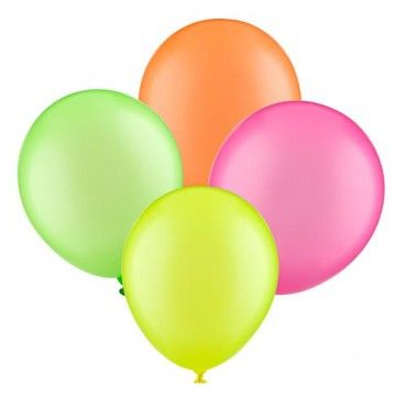 £1 Neon Balloons 10 Pack