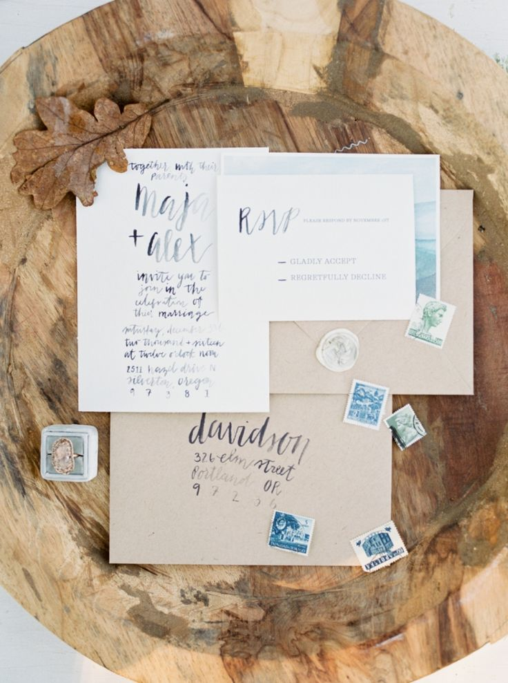 sample wedding invitation email wording to colleagues%0A Beautiful frosty winter wedding inspiration via Magnolia Rouge