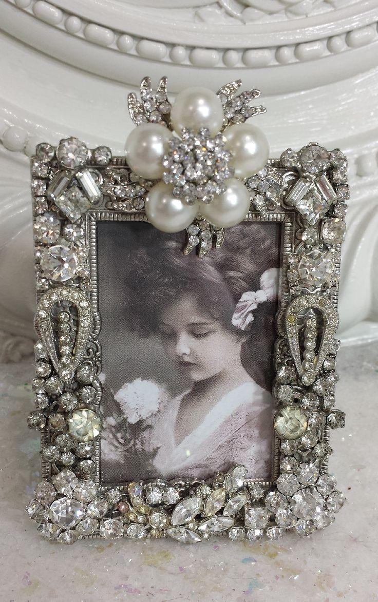 Vintage Rhinestone frame