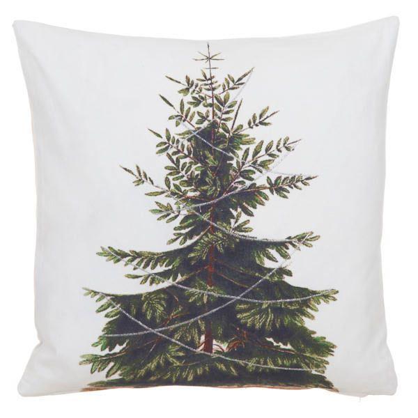 JOULUTYYNY - www.nemilla.fi #joulutyyny #joulutekstiilit #kuusityyny #printtityyny