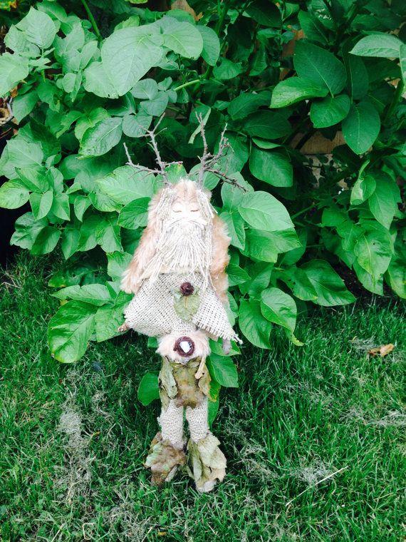 Cernunnos Spirit Doll  Horned God of the Forest by WhiteWolfCraft
