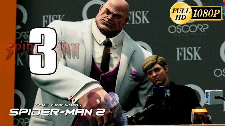 nice The Amazing Spiderman 2 Walkthrough Parte three Gameplay Español PC PS4 XboxOne 1080p (2014 Video Game)