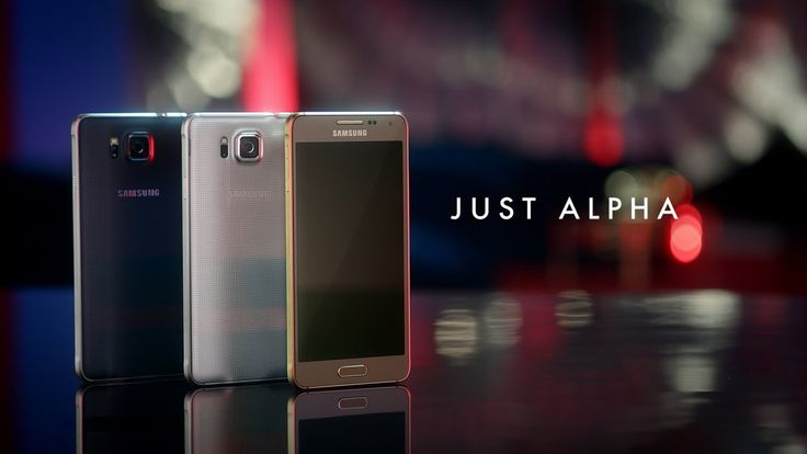 """Samsung GALAXY ALPHA """"Just Alpha"""" Official Video   Published on Aug 13, 2014  Look no further. The next evolution of the Samsung GALAXY smartphone is here.  The new ultra-sleek Samsung GALAXY Alpha redefines smartphone design.  It's slim at a mere 6.7mm, styled from metal and beautifully curved at its edges for durability.  Packed with flagship features such as an enhanced camera and a fingerprint scanner, it's the perfect balance of form and function.  It's Just Alpha."""