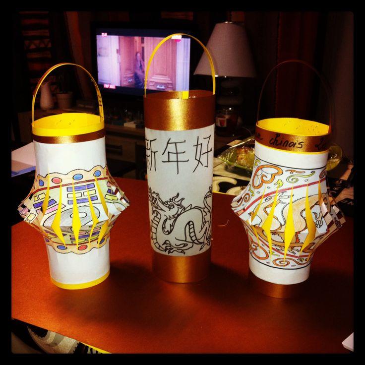 Bonjour à tous ! A l'occasion du Nouvel an chinois qui aura lieu le lundi 8 février 2016, nous vous proposons plusieurs DIY simples, rapides et décoratifs ! :) Aujourd'hui, les lanterne…
