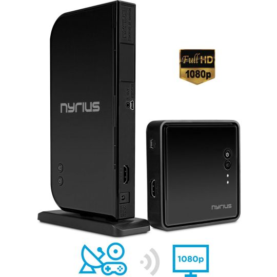 Best Deals 15% OFF Nyrius ARIES Home HDMI Digital Wireless Transmitter & Receiver for HD 1080p Video Streaming | Amazon:   Best Deals 15% OFF Nyrius ARIES Home HDMI Digital Wireless Transmitter & Receiver for HD 1080p Video Streaming Cable box Satellite Bluray DVD PS3 PS4 Xbox 360 Xbox One Laptops PC (NAVS500) | Amazonhttp://bit.ly/2g3JbjX#TodayDeals #DailyDeals #DealoftheDay - Wirelessly stream HD 1080p 3D video and surround sound audio up to 100ft from cable box Bluray player gaming…