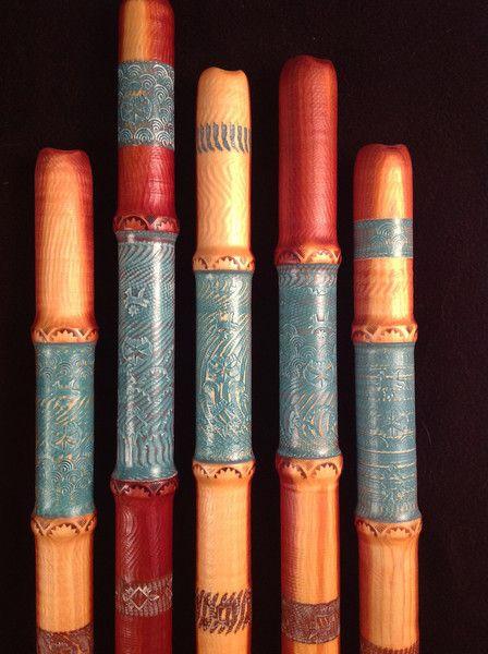 ancient pueblo flute, Mojave flute, Native flute, Ancient North American flute, Anasazi flute, rim-flute, Michael Graham Allen, Time Travelers — Coyote Oldman