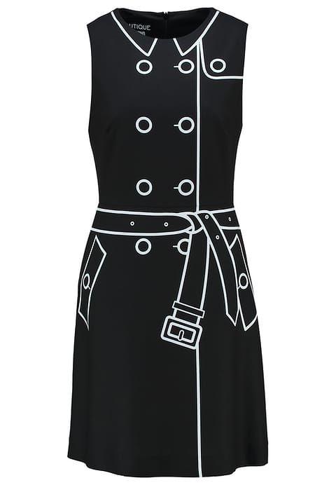 Boutique Moschino Cocktail dress jurk zwart - black - Zalando.nl