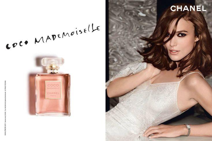 Publicité du parfum Coco Mademoiselle de Gabrielle Chanel
