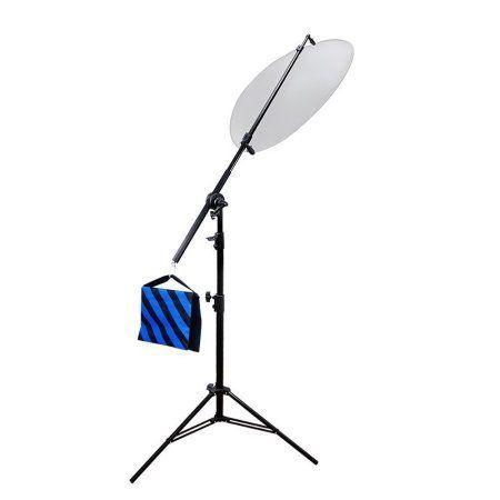 Free Shipping. Buy Loadstone  Studio Photo Studio Lighting Reflector Arm Stand Reflector Stand Holder Boom Arm, WMLS2078 at Walmart.com