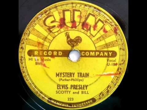 Mystery Train by Elvis Presley on 1955 Sun 78. (+playlist)