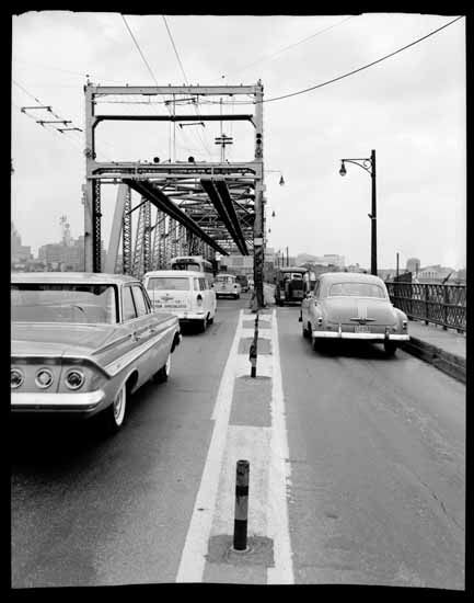 Connaught (Cambie Street) Bridge, 1961