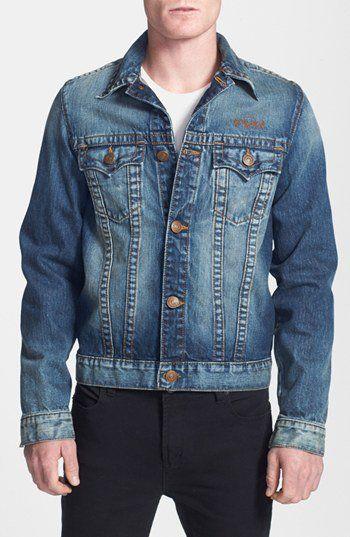 True Religion Brand Jeans 'Danny - Motorcycle Club' Trim Fit Denim Jacket | Nordstrom