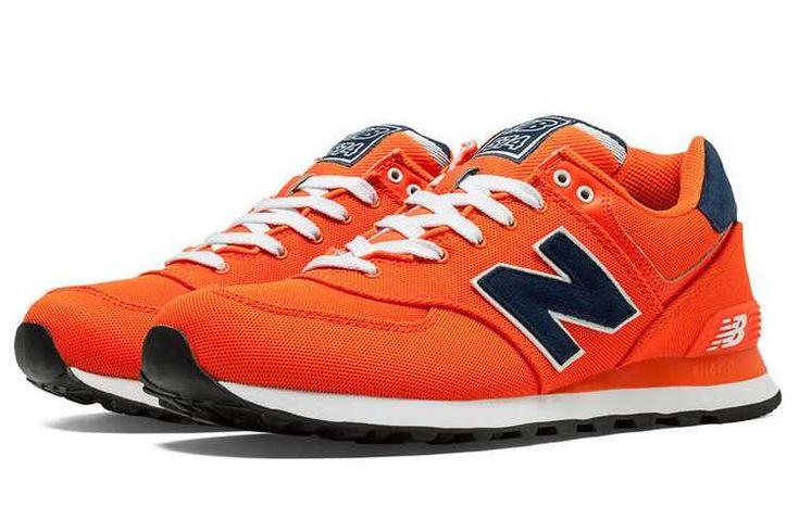 https://www.sportskorbilligt.se/  1767 : New Balance 574 Dam Bright Navy Orange SE556472CiJNZDbYt