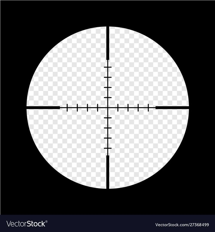 Simple Black Sniper Optical Scope Crosshair Aim Vector Image Affiliate Sniper Optical Simple Black Seamless Pattern Vector Vector Free Color Vector