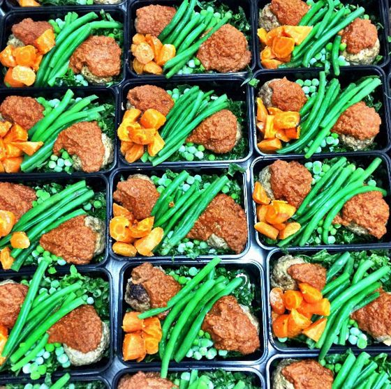 Supremely Delicious: Lamb meatballs with tomato sage sauce, silverbeet, green beans and carrot. This dish will take you back to Sunday lamb roasts at Nanna's house. Yum!!! It's really good!! Have a great day