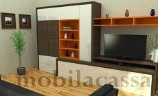 Mobila living la comanda cu design modern si cromatica deosebita http://www.mobilacassa.ro/mobila-sufragerie-living-otto-green/