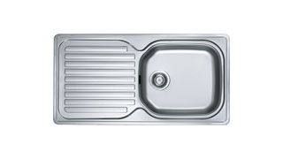 Franke Kitchen Sinks Elba ELN 611-96 Stainless Steel