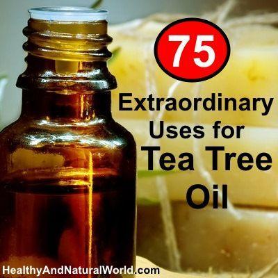 75 Extraordinary Uses for Tea Tree Oil. Get high quality Tea Tree oil.. ask me designbridal@hotmail.com