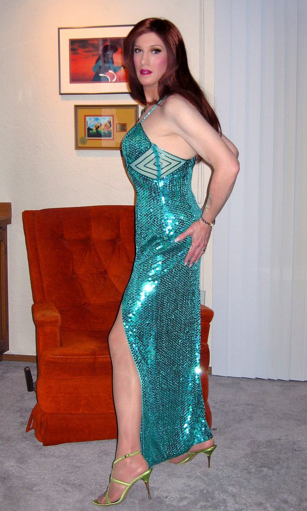 Think, that Transvestite evening dress