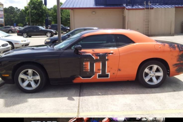 Dodge Challenger/General Lee