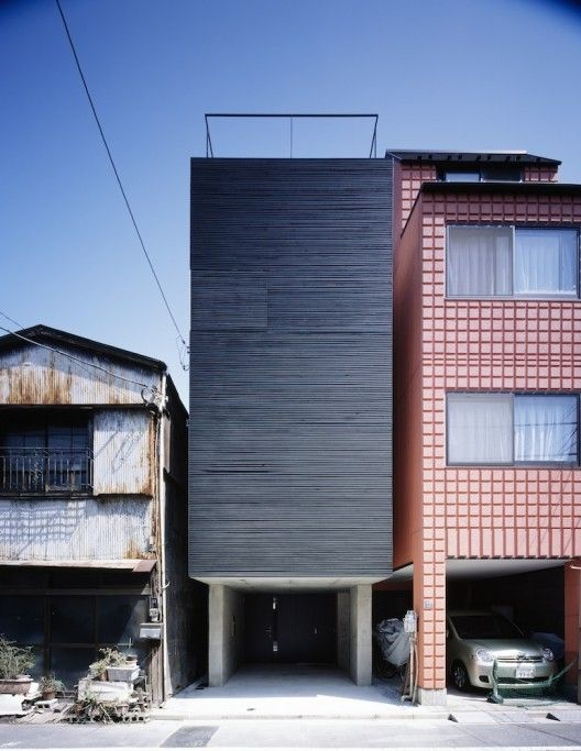 © Masao Nishikawa Architects: APOLLO Architects & Associates Location: Tokyo, Japan Structural Engineer: Kenta Masaki Mechanical Engineer: Zenei