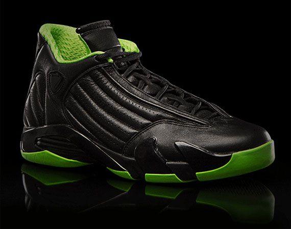"Air Jordan XIV ""Black/Neon Green"" Collection"