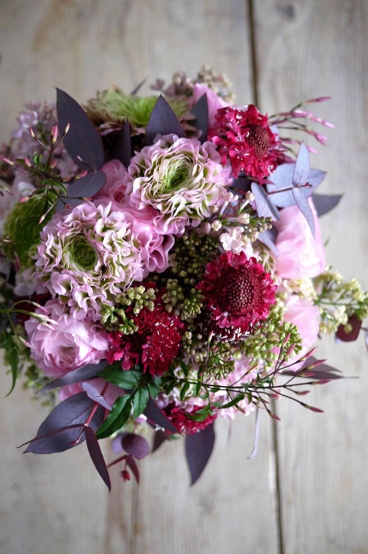 jasmin, lilas, renoncule, scabieuse