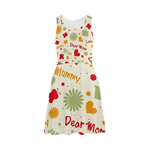 Womens Happy Mothers Day Quote Polyester Casual Sundress *** Check out the image by visiting the link-affiliate link.