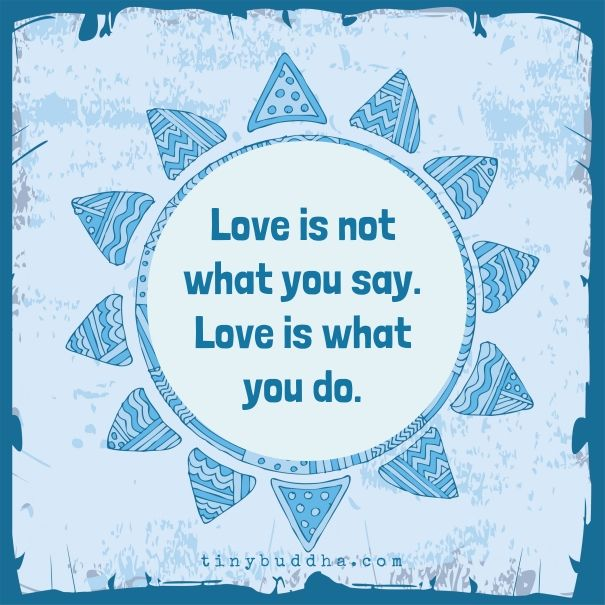 Love is what you do