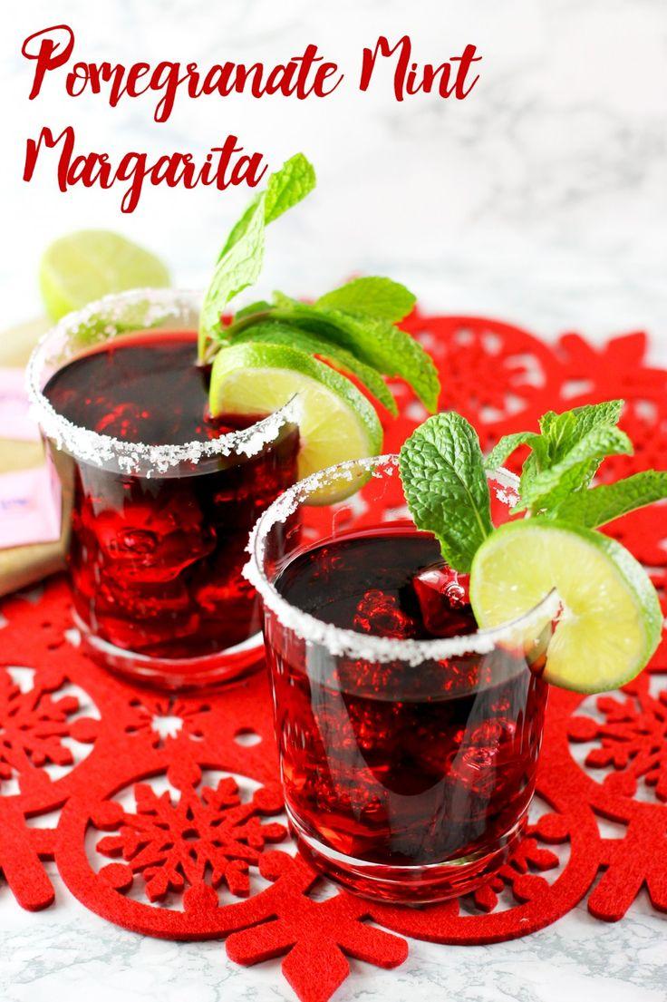 Pomegranate Mint Margarita   The o'jays, Pomegranates and ...