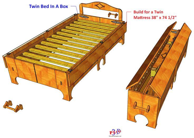 Twin Folding Bed #142