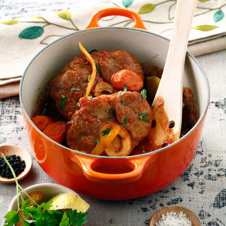 Découvrez la recette Osso bucco de veau sur cuisineactuelle.fr.                                                                                                                                                                                 Plus