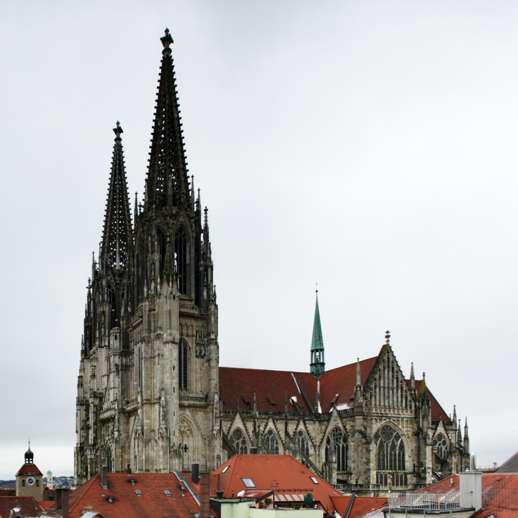 Regensburg Dom Cathedral - I used to attend Mass here.
