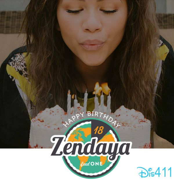 Video: Help Make Zendaya's 18th Birthday Special By Supporting Convoy Of Hope's Initiative feedONE