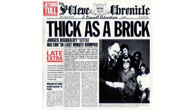 Jethro Tull, 'Thick as a Brick' (1972)