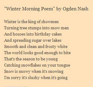 a biography of humorist fredric ogden nash Frederic ogden nash (19 august 1902 – 19 maj 1971) bio je američki pjesnik poznat po kratkim humorističkim pjesmama.