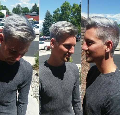 20 Hair Color Men-Hey guys, are you ready for a new mens hair color? If you want a cool and stylish look, you can check these 20  Hair Color Men. All peaple loves to see different hair colors, espacially pastel colors and mermaid styles are pretty popular. Mens deserve to see new hairstyles and trends too. Just check these popular men hairstyles and pick one for your self. Do not miss the trends!