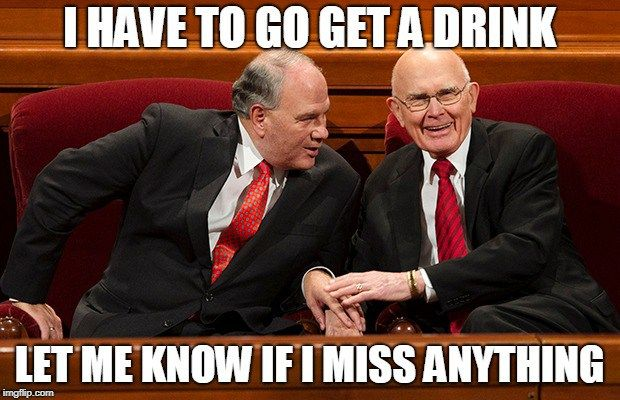 You Ve Heard The General Conference Rumors But Have You Seen The Memes General Conference Funny Mormon Memes Lds General Conference