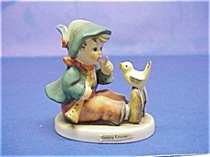 hummel figurines value list | Older Hummel Figurine - Singing Lessons (HUMMEL FIGURINES) at Danica's ...