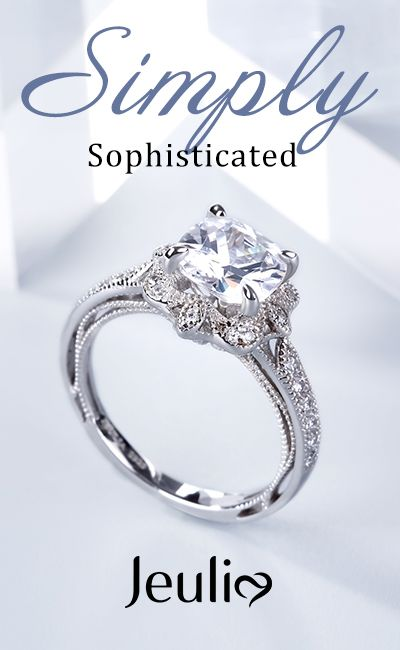 cdc6b77f788aeb Simply Sophisticated Engagement Rings. Rose Gold Engagement Ring. Antique  jewelry touches our hearts and souls with its timeless beauty.