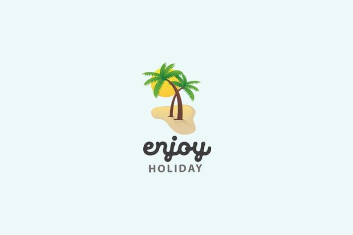 Enjoy Holiday  Logo Template #community #graphicdesign  • Download here → http://1.envato.market/c/97450/298927/4662?u=https://elements.envato.com/enjoy-holiday-logo-template-ZLCNYE