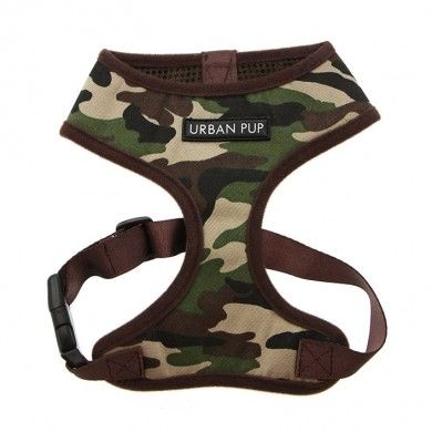 Army Soft Dog Harness by Urban Pup