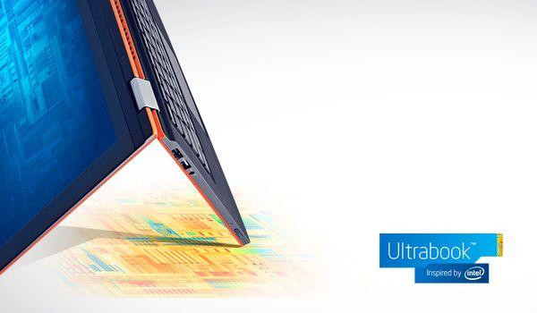 Zobacz, co się dzieje, gdy świat nie nadąża za komputerem Ultrabook z technologiami firmy Intel. Zobacz do czego prowadzi kliknięcie, dotknięcie lub przesunięcie.