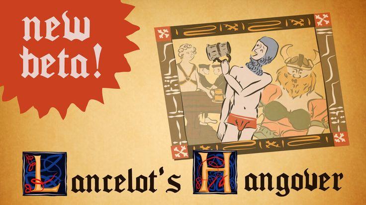 #монти #пайтон LANCELOT'S HANGOVER (point and click) : New Free Beta!