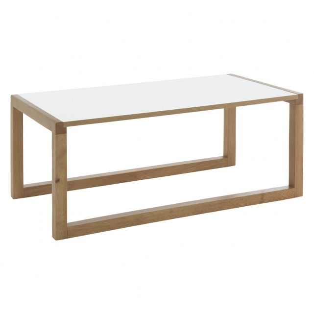 KENSTAL White long coffee table | Buy now at Habitat UK
