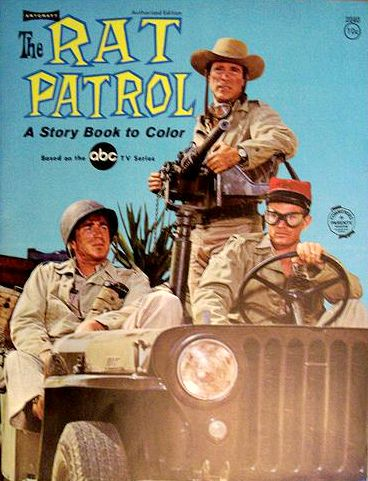 """The Rat Patrol"" coloring book."